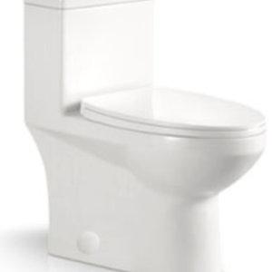 ligano Toilette 346 Mono Carré, double chasses par LIGANO