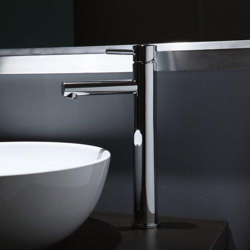 Riobel Robinet Haut de lavabo monotrou GS chrome, sans drain par RIOBEL