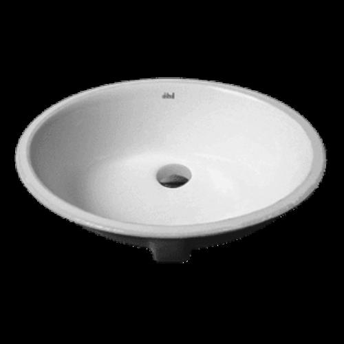 AKKTUEL Lavabo sous plan oval en porcelaine blanche par AKTUELL