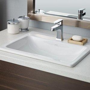 Lavabo Semi-encastré MANHATTAN blanc par CHEVIOT