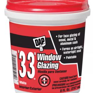 Mastic de vitrier 237 ml