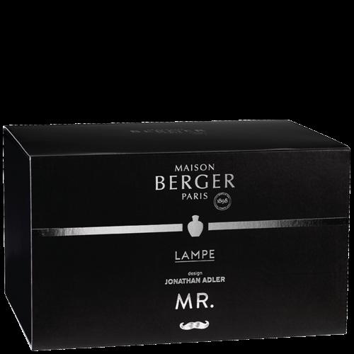 Coffret lampe Berger Mr. par Jonathan Adler avec recharge Terre sauvage - 250 ml (8.5oz)