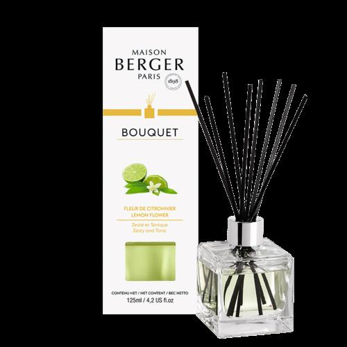 Bouquet parfumé Cube – Fleur de citronnier