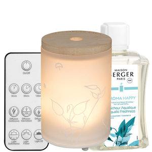 Coffret diffuseur électrique Aroma Happy – Fraîcheur Aquatique