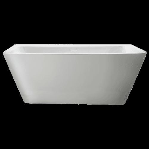 AKKTUEL Bain autoportant Wankell 59x28 blanc par AKTUELL