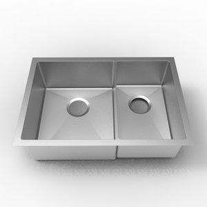 ligano Évier de cuisine 1 cuve 1/2 stainless par LIGANO