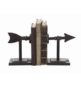 Cast Iron Bookends (Set of 2 Pieces)