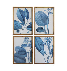 Blue Botanicals (Set of 4)