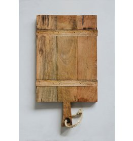 Mango Wood Cheese Board with Rope on Handle