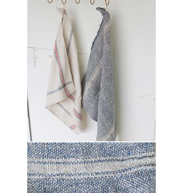 Cotton Navy Utility Towel (Set of 6)
