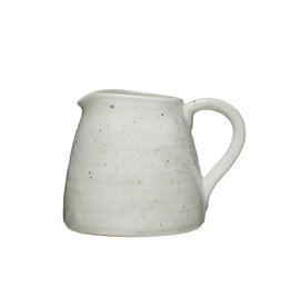 32 oz. Stoneware Pitcher (Each One Will Vary)