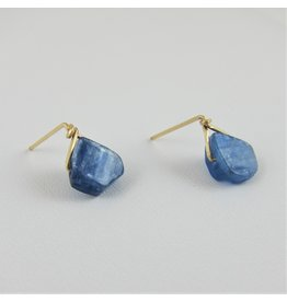 14kg Kyanite Drop Earrings