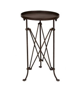 Directoire Metal Side Table