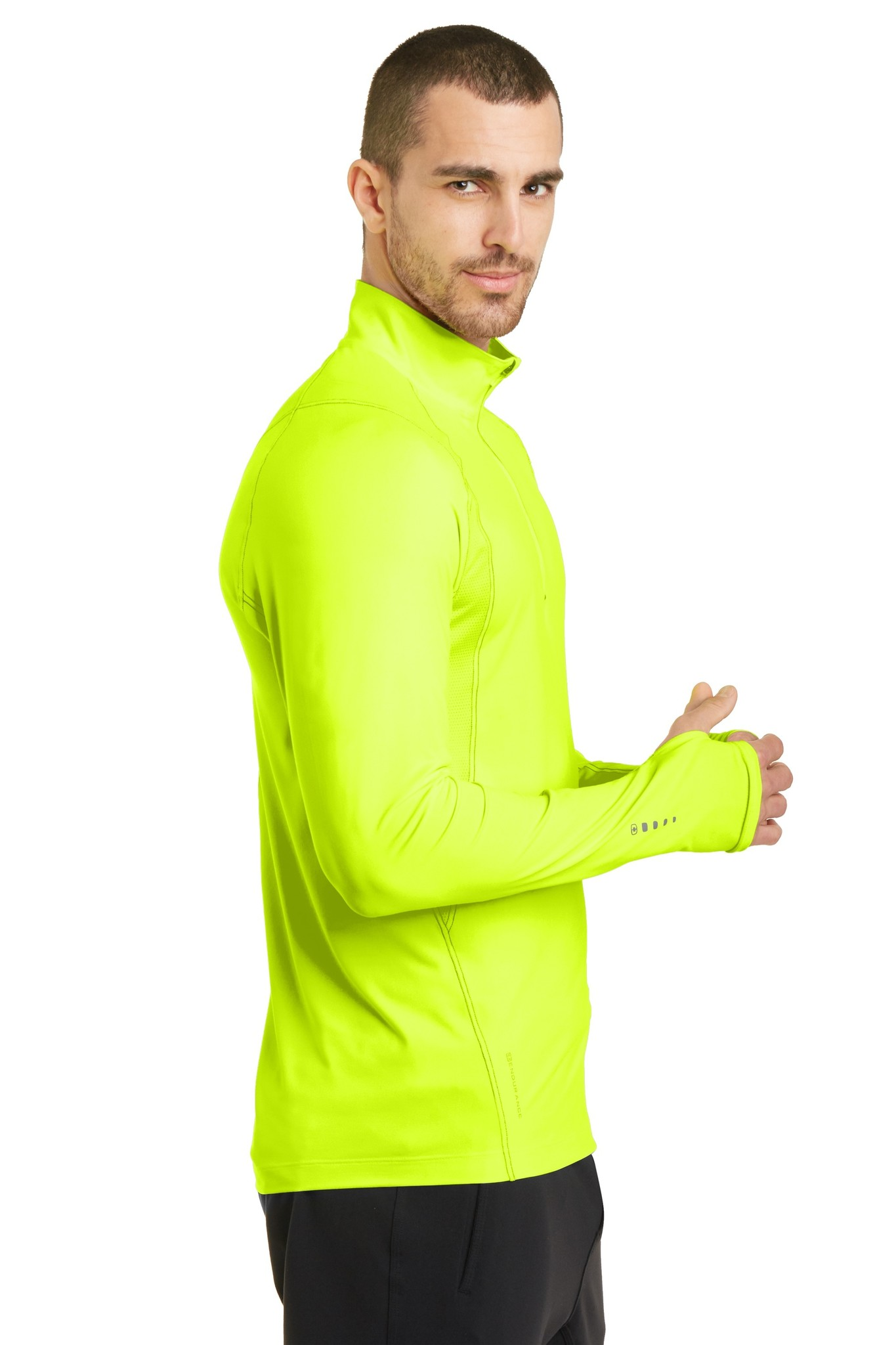 Half Zip with Up-N-Running Logo - Men