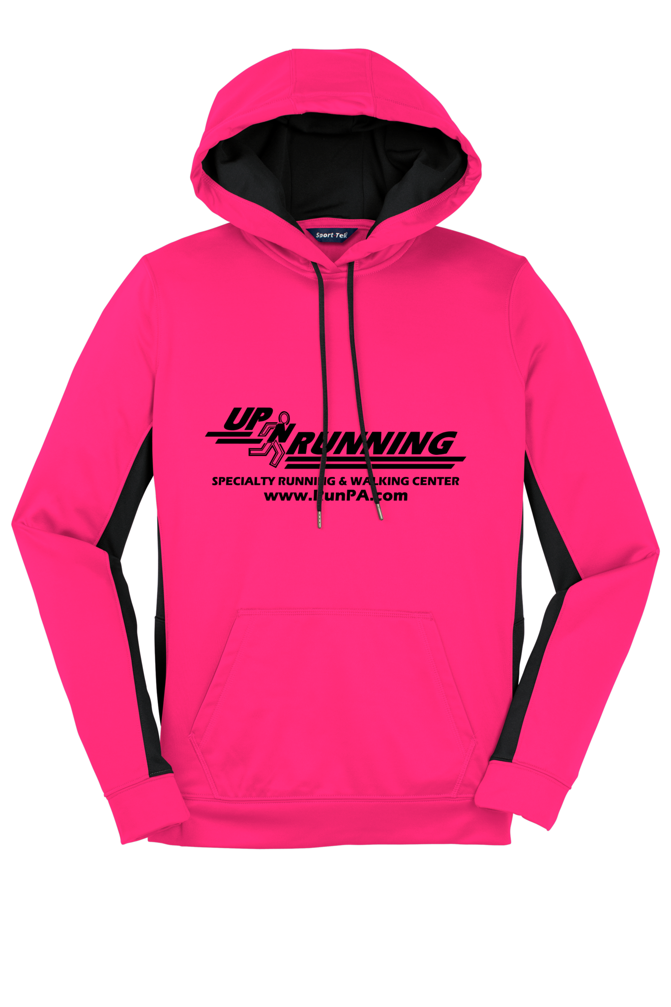 Up-N-Running Logo Fleece Hoodie - Women