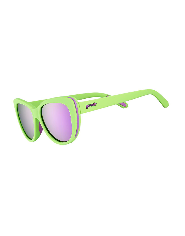 goodr Runway goodr Sunglasses - Total Lime Piece