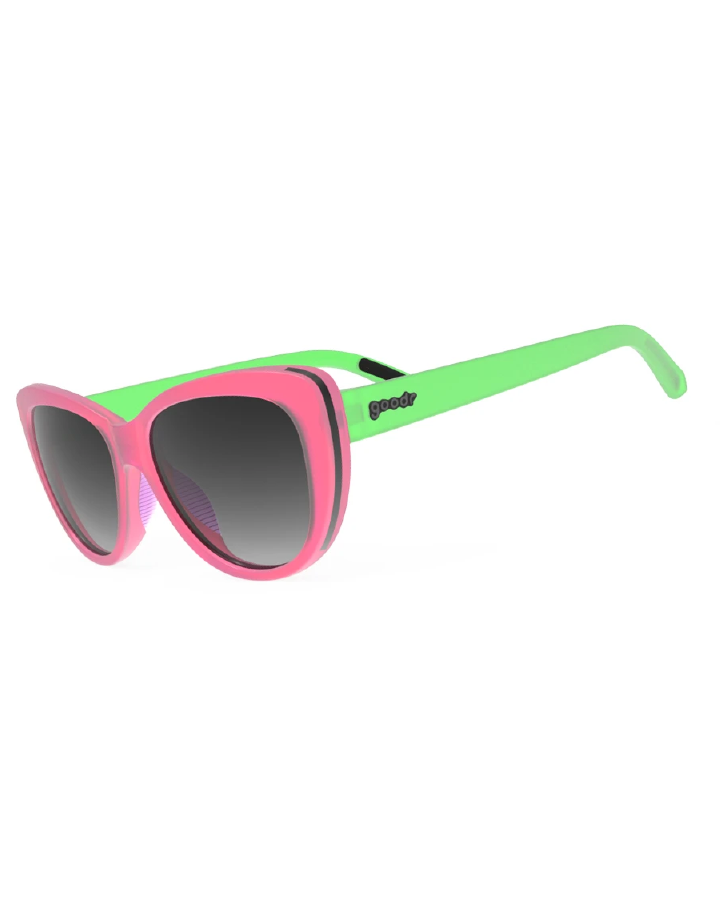 goodr Runway goodr Sunglasses - My Cateyes are Up Here