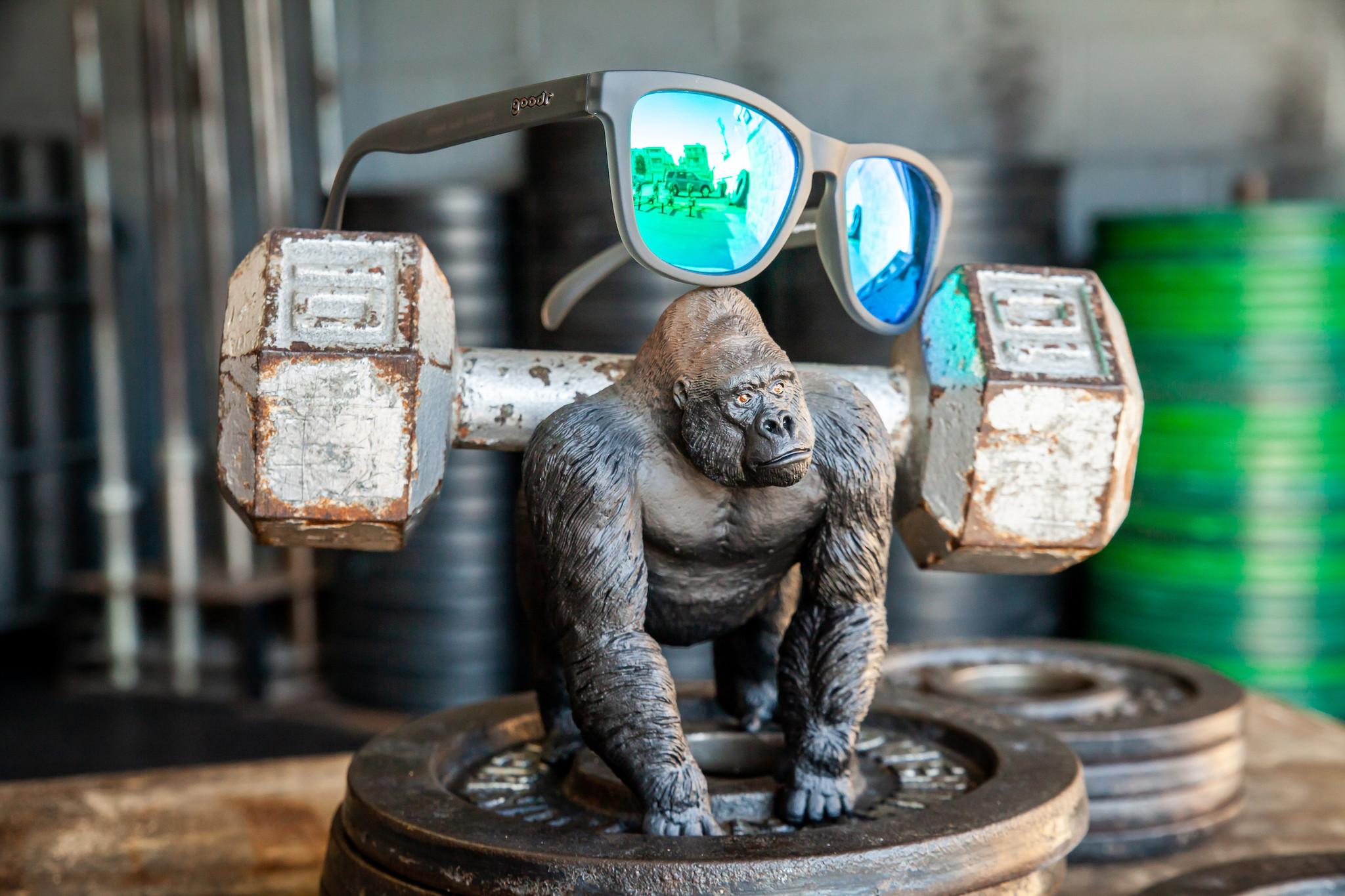 goodr OG goodr Sunglasses - Silverback Squat Mobility