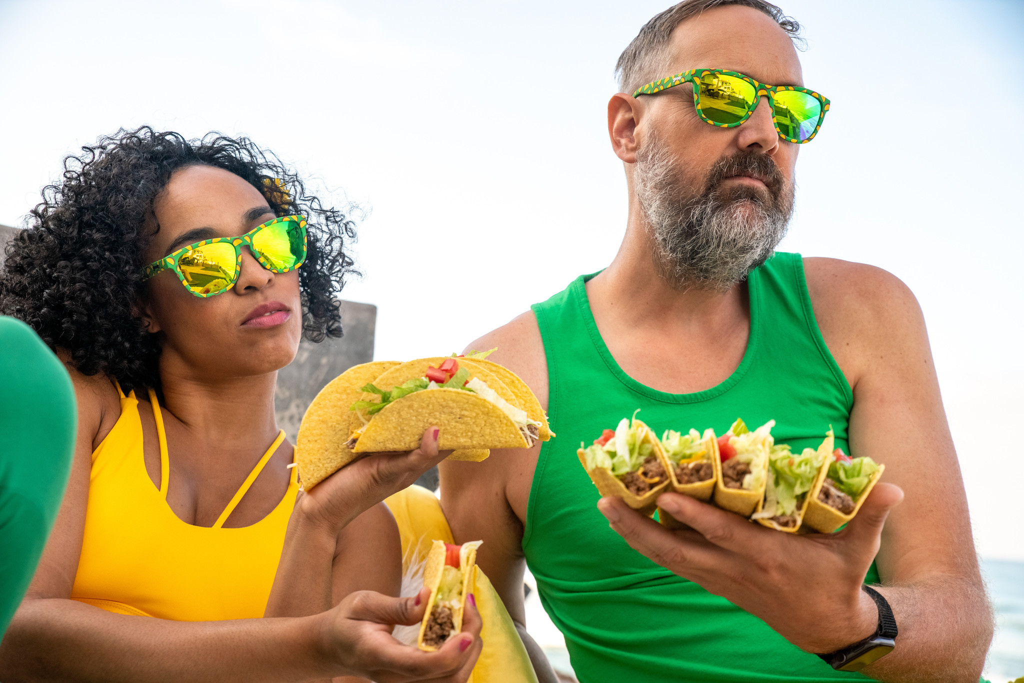 goodr OG goodr Sunglasses - Hope They Serve Tacos in Hell