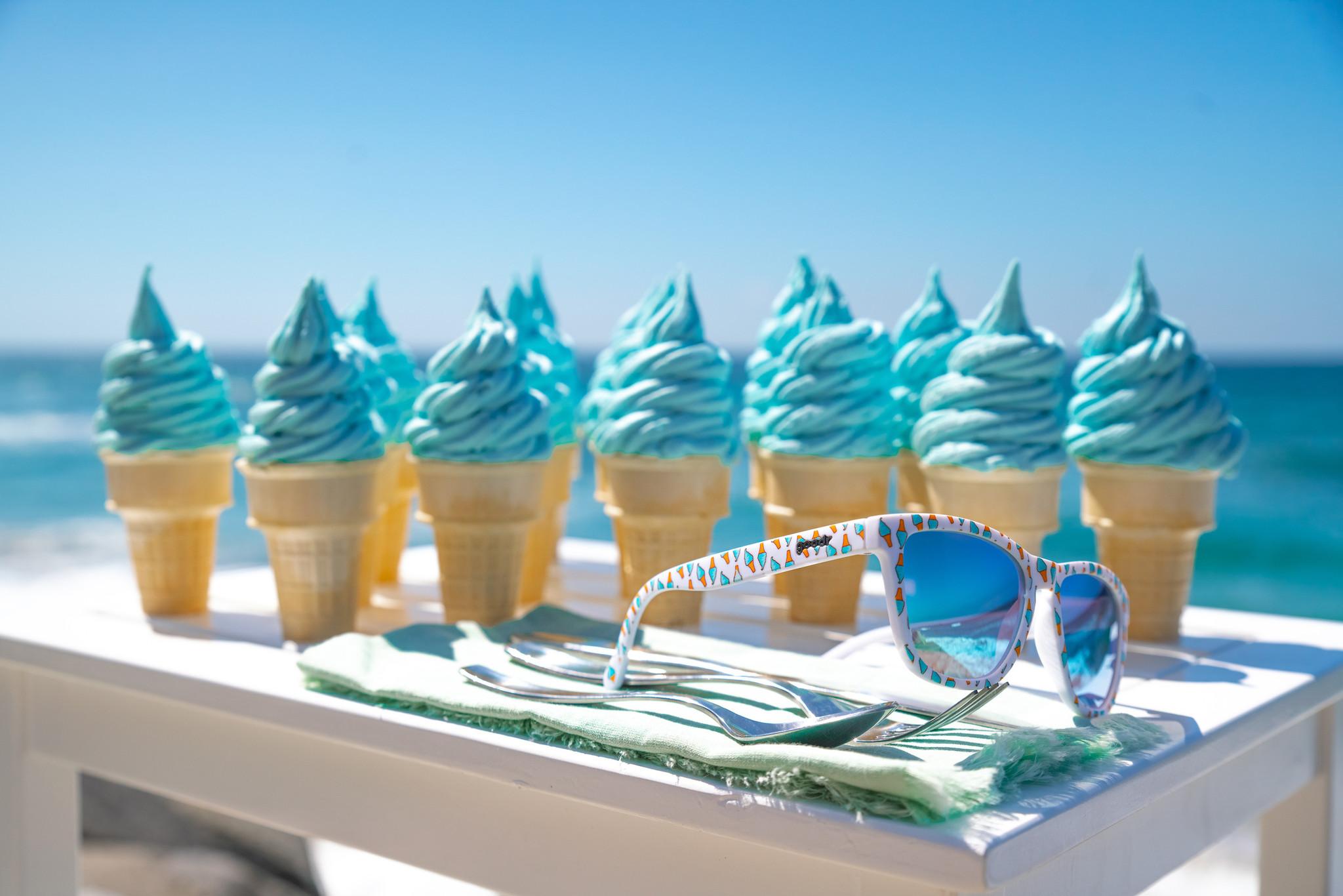 goodr OG goodr Sunglasses - Eyes Scream for Ice Cream
