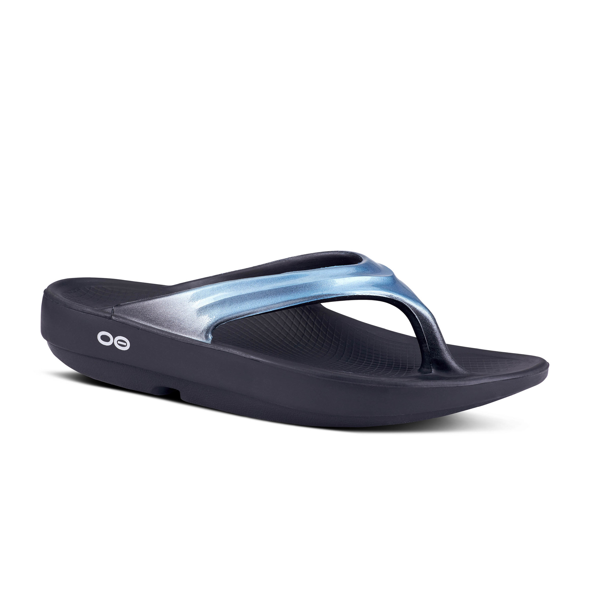OOfos OOlala Thong, Metallic Blue
