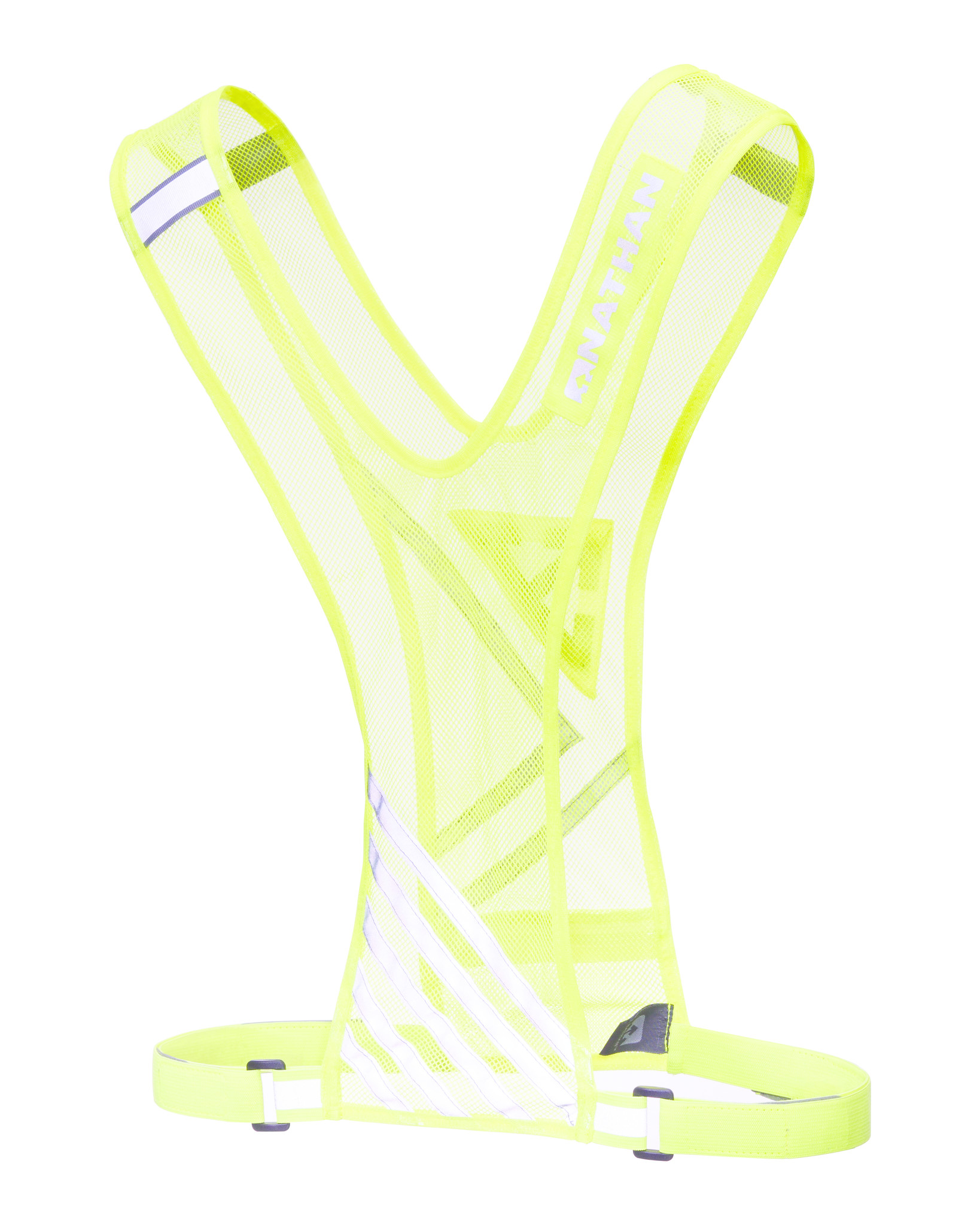 Nathan Nathan Bandolier Vest, Safety Yellow