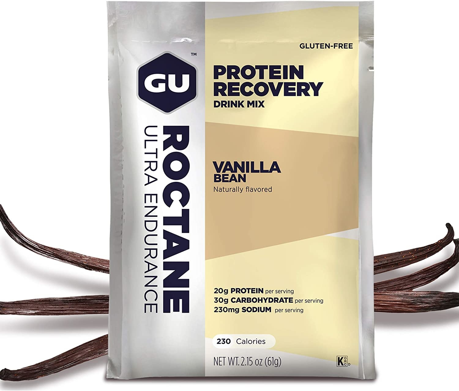 GU Energy Roctane Recovery Drink Mix Packet