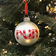 Mad Dash Creations Candy Cane Running Ornament