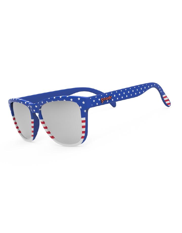 goodr goodr OG Sunglasses - Red, White, Booze