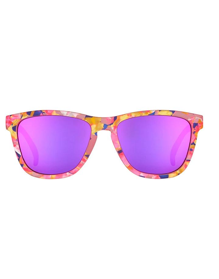 goodr goodr LE OG Sunglasses -  Flamingo-ite Aura Right