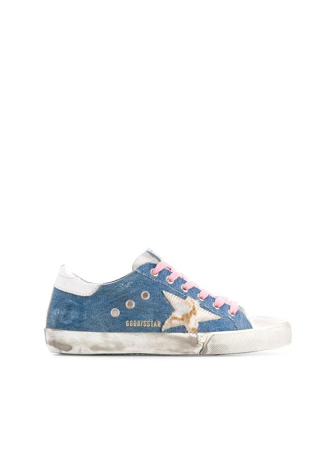 Superstar Sneakers in Denim