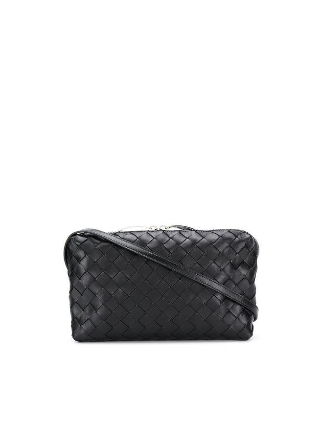Small Crossbody Bag in Intrecciato