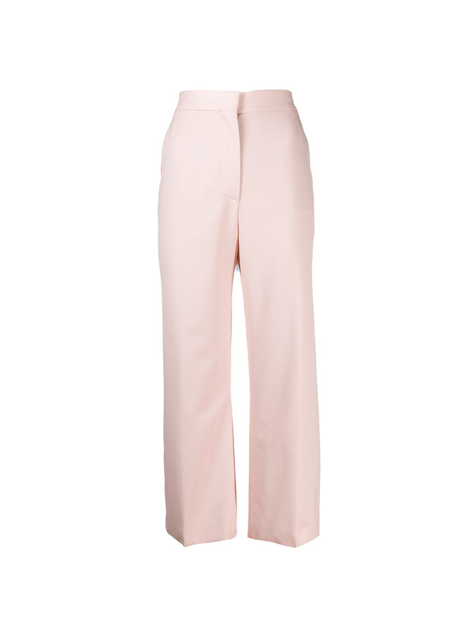 Cropped Pants in Stretch Wool