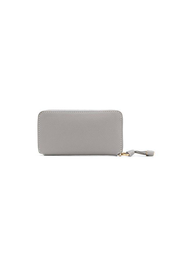 Chloe Marcie Zip Around Wallet, in Cashmere Grey