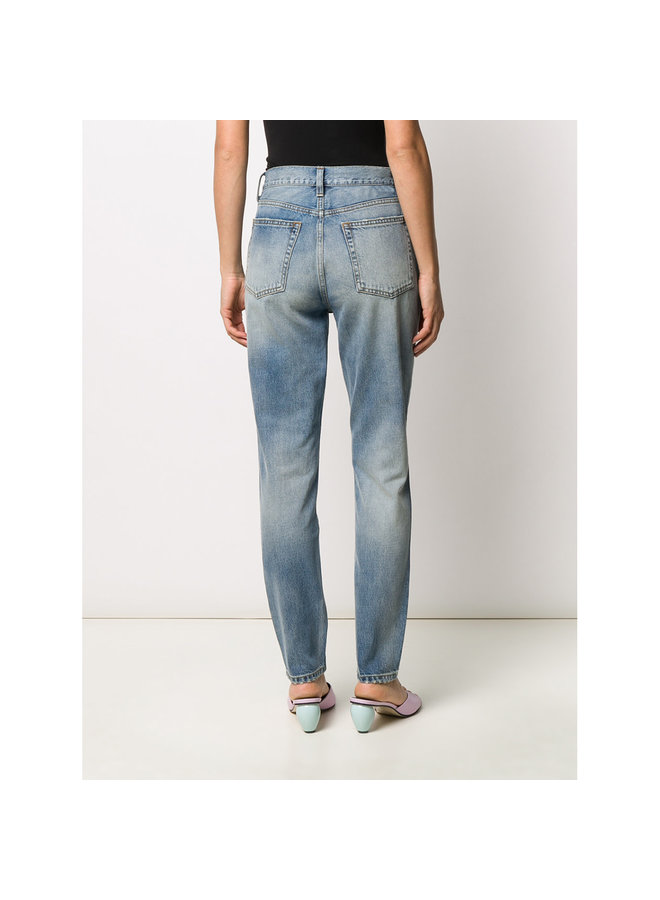 Billy High Rise Skinny Jeans in Light Blue