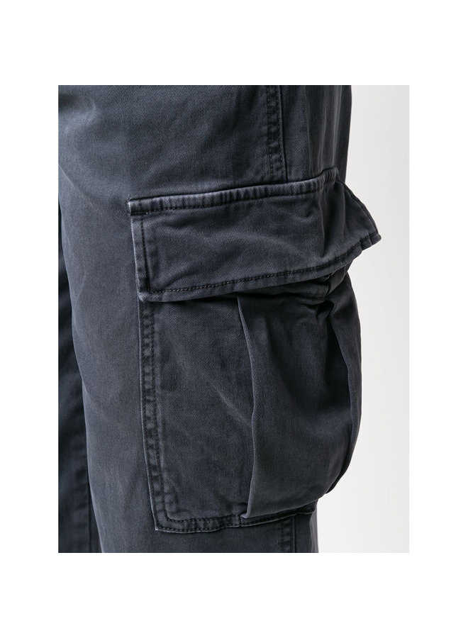 Kai High Waisted Cargo Pant in Anthracite