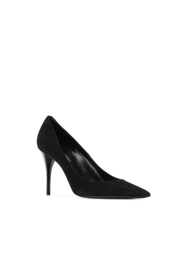 Lexi Mid Heel Pumps in Black