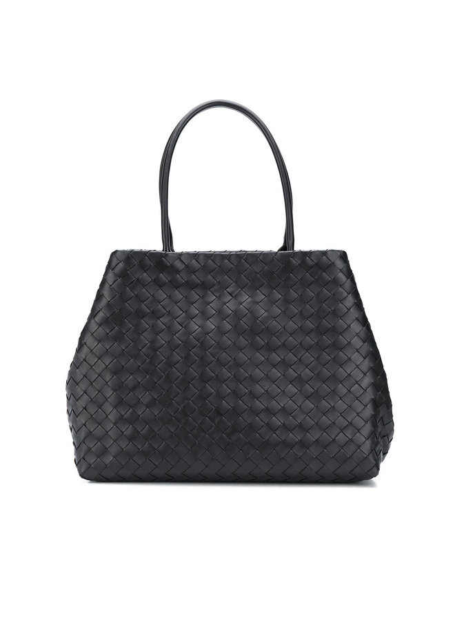 Large Tote Bag in Intrecciato Leather