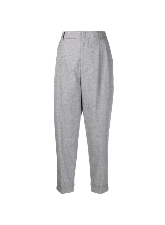 High Waisted Casual Pants in Lavender