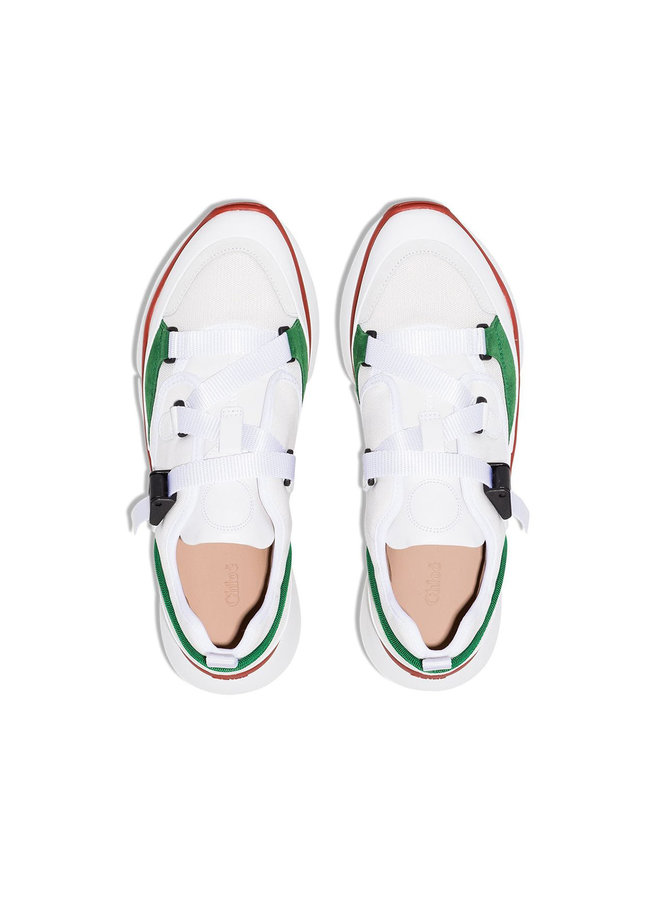 Sonnie Low Top Sneakers in Jungle Green
