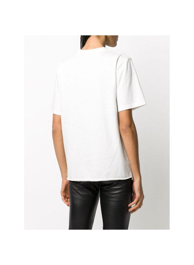 Oversized Logo T-shirt in White