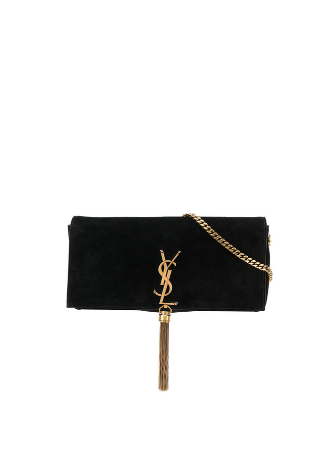 Kate Reversible Shoulder Bag in Black