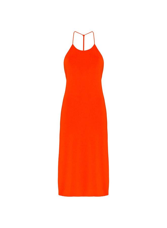 BV Knee Length Open Back Dress