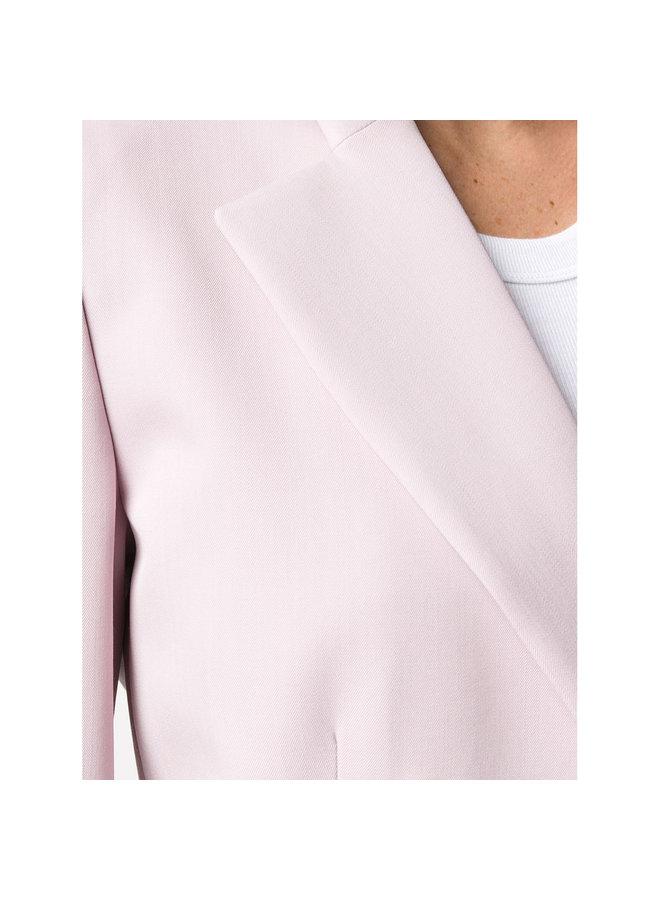 Double Breasted Blazer Jacket in Tearose