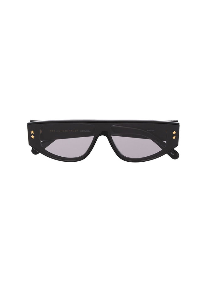Round Frame Eyewear in Black