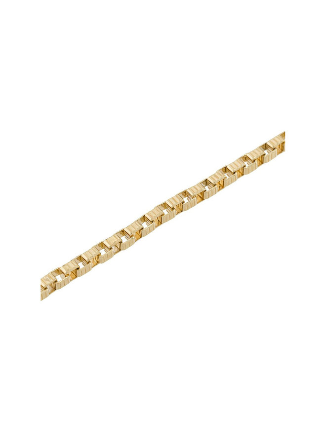Signore 3X3 Chain Bracelet in Gold
