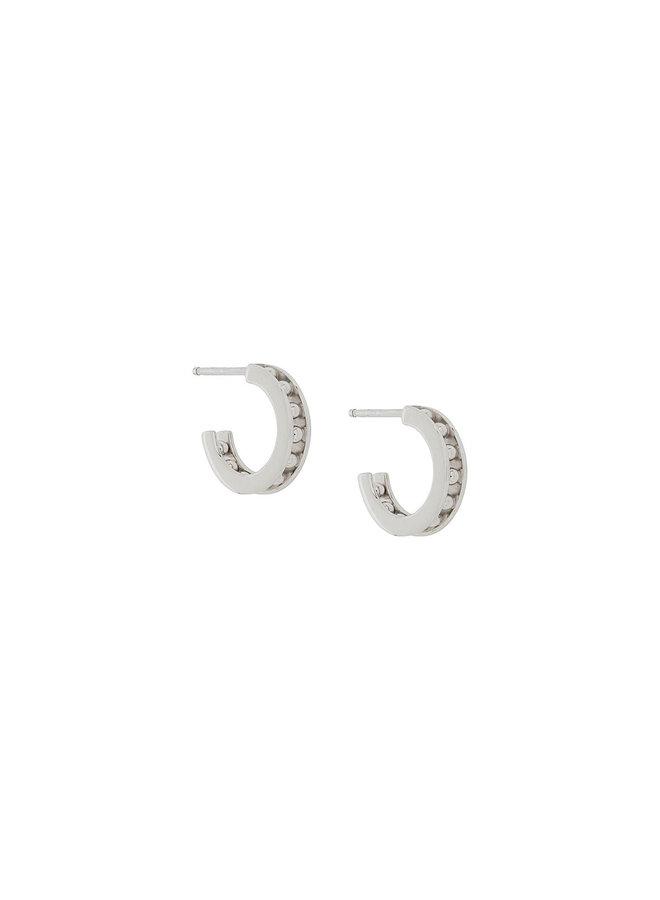 Tiger Mini Hoop Earrings