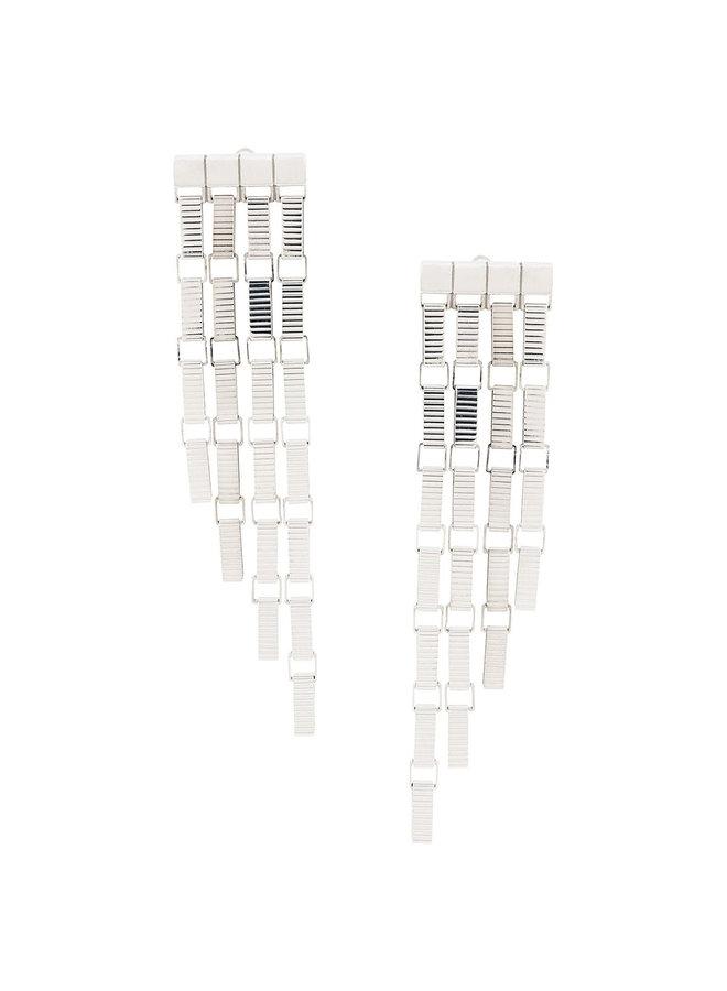 Signore 5 Chain Fringe Earrings