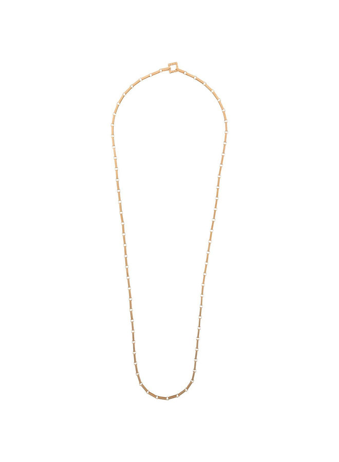 Signore 3 Chain Opera Necklace in Gold