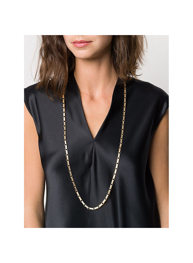 Signora Chain Rope Necklace in Gold